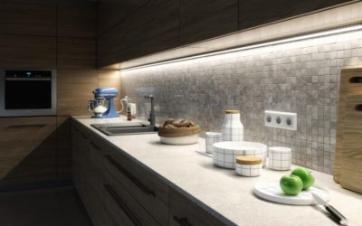 Aluminiowe profile LED jako nowoczesne oświetlenie kuchni